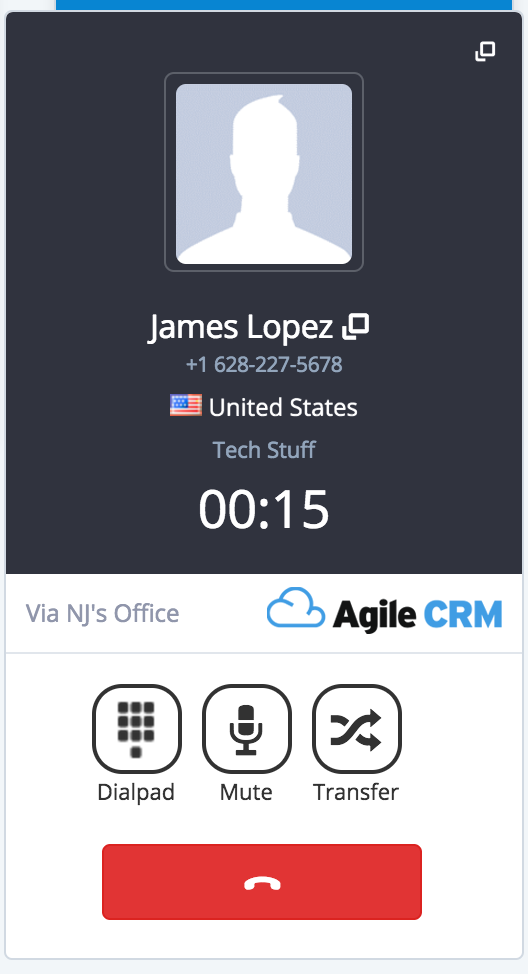 Automatic contacts syncing in amocrm
