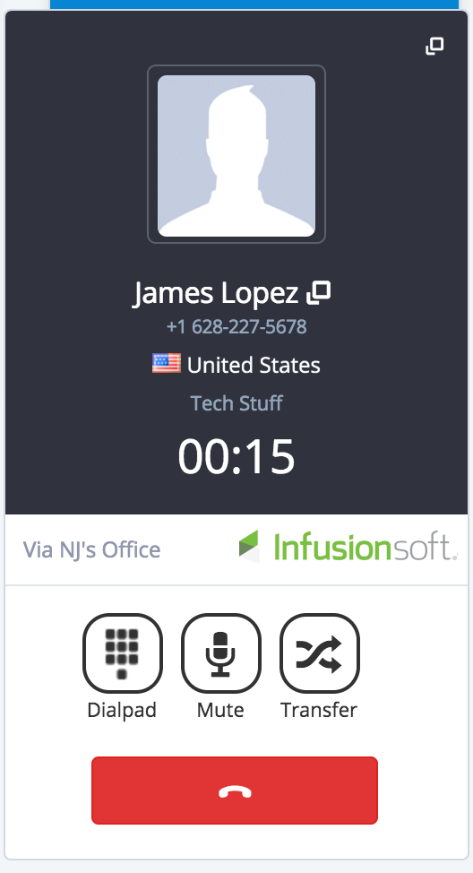 Automatic contacts syncing in infusionsoft